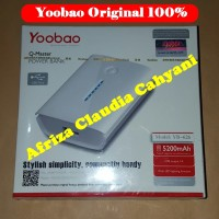 Power Bank Yoobao Q-Master 5200mAh Yb626 (Original 100%) Garansi 1 thn