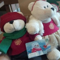 Bearista Starbucks Christmas Edition