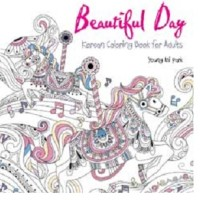 Beautiful Day Korean Coloring Book For Adults Penulis Young