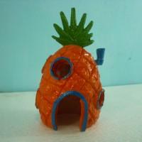 aquarium/hiasan aquarium/ornamen aquarium/fiber -rumah nanas