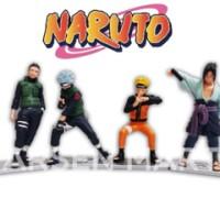 harga Miniatur Mini Figure Naruto / Patung / Koleksi / Hiasan Kue Ultah Tokopedia.com