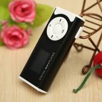 MP3 Player Mini Murah IPod TF Card + Layar LCD + Senter + Kabel USB