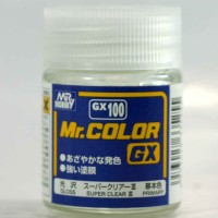 Mr Color GX 100 Super Clear - Gundam model kit paint