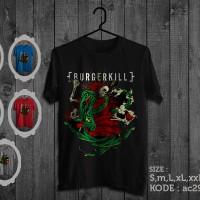 harga Kaos Burgerkill,tshirt Burgerkill Tokopedia.com