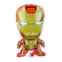 balon ironman iron man batman spiderman ultah birthday superman