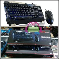 TT Esports Commander : Keyboard Gaming Combo Blue Backlight