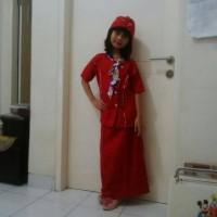 harga baju pramugari (size L,XL)/baju profesi/kostum anak Tokopedia.com
