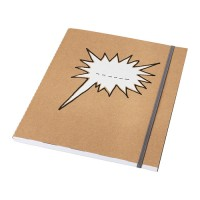 IKEA SARSKILD Buku Tulis 20x24 Cm, Putih, 60 Halaman Bergaris