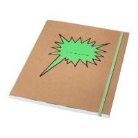 IKEA SARSKILD Buku Tulis 20x24 Cm, Hijau, 60 Halaman Bergaris