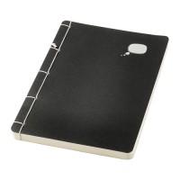 IKEA SARSKILD Buku Tulis 14x21 Cm, Hitam, 120 Halaman Tidak Bergaris