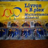 LIVRON B-PLEX multi vitamin dan tambah darah