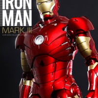 Iron Man Mark 3 Die Cast MISB - Hot Toys