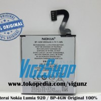 Battery/batre/baterai Nokia Lumia 920 Bp-4gw Original