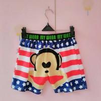 harga celana pendek boxer pria dan wanita karakter monyet Tokopedia.com