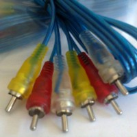 Kabel Av RCA Transparan