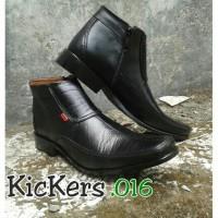 harga Sepatu Formal Pria Kulit Tinggi Kickers Tokopedia.com