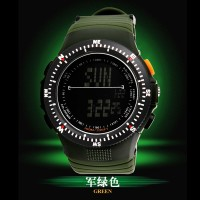 Original SKMEI Casual Men Jam Tangan Pria Tahan Air Dual Mode
