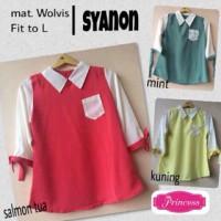 syanon blouse atasan wanita murah