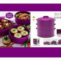 Steam It Purple Tupperware / Kukusan 3 Susun