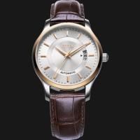 harga Fiyta Men Classic Brown Leather Strap Automatic Watch Ga8426.mwr Tokopedia.com