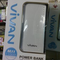 harga Powerbank Power Bank Vivan Original M11 11000mah Real Tokopedia.com