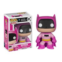 FUNKO POP SUPER HEROES Batman 75th Anniversary Pink Rainbow