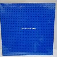 Baseplate Lego base plate - Lele 32 x 32 dots Blue