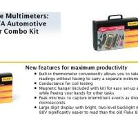 Fluke 88V/A Automotive Multimeter Combo Kit, fluke 88V combo KIT