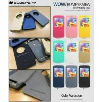 Harga Mercury Goospery Bumper View Cover Asus Zenfone Selfie Zenfone GO | WIKIPRICE INDONESIA