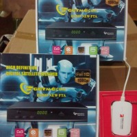 GETMECOM HD009 NEW FTA [POWER VU] + MODEM HUAWEI TV STICK (Support)