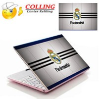 Real Madrid 4 / Stiker Laptop 11,12, 14, 15 Inch / Garskin Laptop /