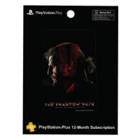 Playstation Plus 12 Month Subscription MGS Edition - PS Plus 12 Bulan