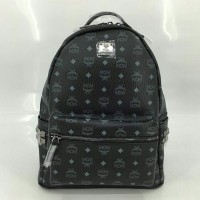JUAL TAS MCM BLACK TYPE1 MIRROR QUALITY 1:1 WITH ORIGINAL