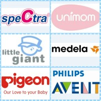 SPARE PART POMPA ASI BREAST PUMP MEDELA AVENT PIGEON IQ BABY