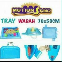 Tray / Wadah Motion Sand, Kinetic Sand, Pasir 70x50cm
