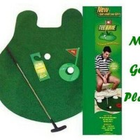 Mini Golf Player / 1 Set alat berlatih main Golf