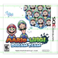 3DS Mario and Luigi: Dream Team (Usa / Asia)