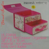 Obral Sophie Sunday Tempat Make Up Sakura Mini Drawer Organizer