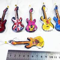 Souvenir murah Gantungan Kunci Gitar