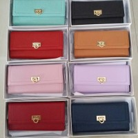 Salvatore Ferragamo Flip Lock Wallet (Dompet Lipat Wanita / Cewek)