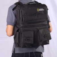 Universal Tas Kamera Backpack / Ransel National Geographic Kode D Black