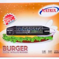 Receiver Matrix Burger Mpeg2 Parabola C Band FTA