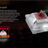 Corsair Vengeance STRAFE RGB Cherry MX Silent Gaming Keyboard