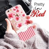 Pretty in red custom case (semua merk hp bisa)