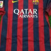 Baju Bola Jersey Barcelona Home 13-14 ORIGINAL BNWT size lengkap