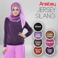 Atasan Jersey Model SILANG, Size XL,/2XL, ANSTEY