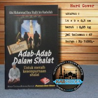 Adab - Adab Dalam Shalat - Pustaka Ibnu Umar - Karmedia