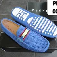 PEDRO SHOES 005 BLUE MOCCASINS / SEPATU PEDRO