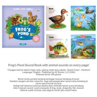 Frog's Pond Sound Book with animal sounds on every page!