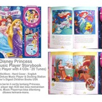 Disney Princess Music Player Storybook with 20 Tunes